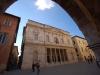 ingresso del Teatro Ventidio Basso ad Ascoli Piceno