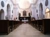 L'interno della Chiesa dei SS. Maria e Lorenzo a Rotella