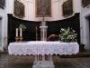 L'altare della Colleggiata dei SS. Maria e Lorenzo a Rotella