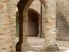 Particolare del chiostro dell'ex convento francescano a Colli del Tronto