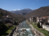 Il fiume Tronto che bagna il comune di Arquata del Tronto