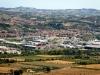 La Valle del fiume Tronto vista da Maltignano