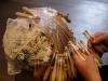 L'arte della lavorazione del merletto a tombolo a Offida