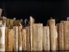 Particolare dei libri storici della Biblioteca Tomistica di Sant'Alessio a Monsapolo del Tronto