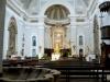 Particolare dell' interno della Chiesa Maria SS. Assunta a Monsampolo del Tronto
