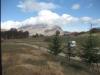 Rifugio Colle Le Cese ad Arquata del Tronto e la vista con panorama sui Monti Sibillini