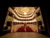 Particolare dell'interno del Teatro Serpente Aureo di Offida progettato dall'Architetto Pietro Maggi