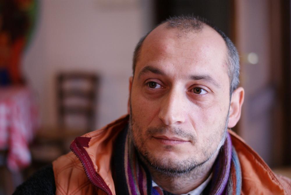 Massimo Giannetti il titolare dell'Agriturismo Jervascio a Ripatransone