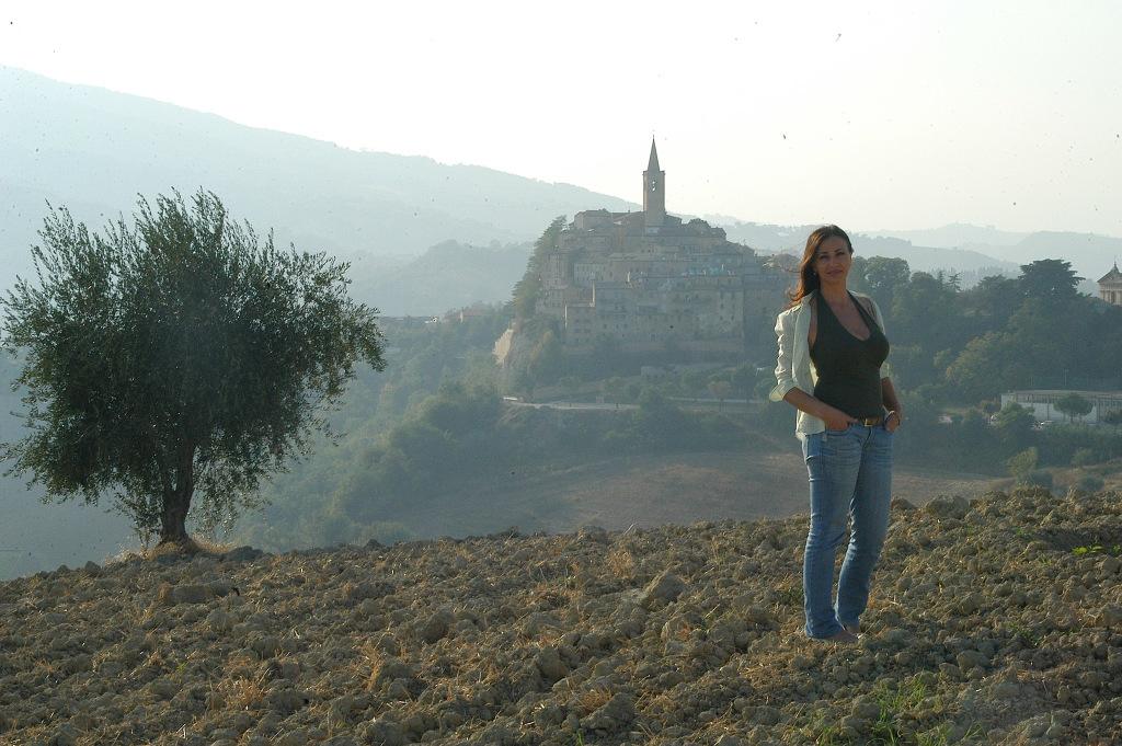 Norma Piconi titolare del B&B Il Rifugio dei Marsi a Roccafluvione