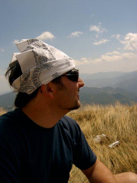 Vincenzo Lucidi produttore di Zafferano nelle Terre del Piceno